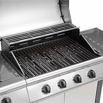 TAINO® 4+1 BBQ GRILLWAGEN + Seitenkocher Gasgrill