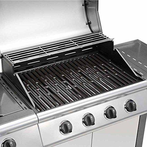 taino 4 1 bbq grillwagen seitenkocher gasgrill grill. Black Bedroom Furniture Sets. Home Design Ideas