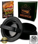 Le Flair XXL Burgerpresse-Set 4 in 1