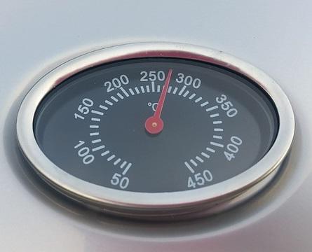 Thermometer eines Hochtemperaturgrills